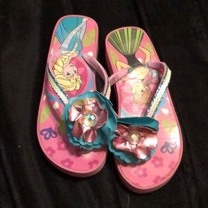 Disney GUC wedge Frozen flip flops